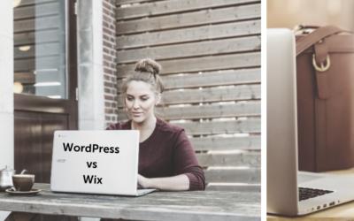 WordPress vs Wix | Comparativa:  ¿Cuál es la mejor?