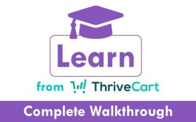 Thrivecart Learn: La nueva plataforma de cursos online